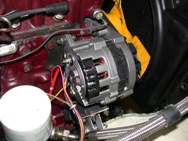 Mg midget alternator replacement
